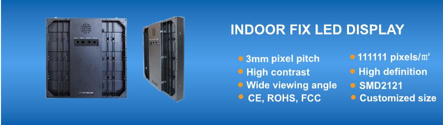Indoor P3 LED Display