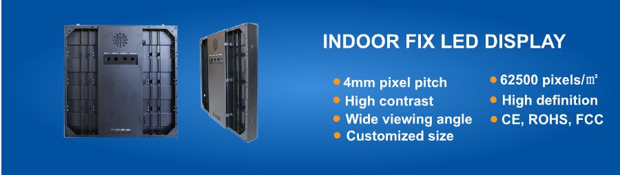 Indoor P4 LED Display